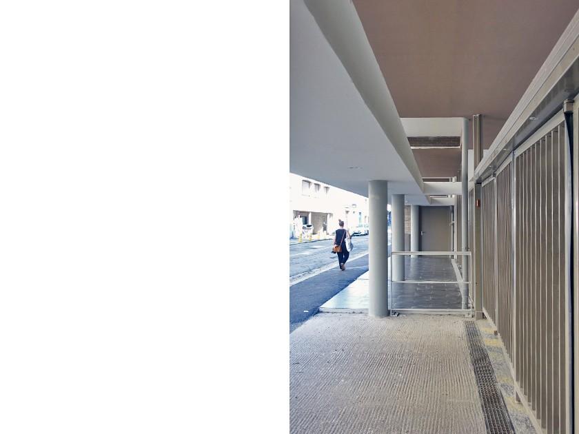 LOEIZ CARADEC ET FRANCOISE RISTERUCCI ARCHITECTES. SARL ARCHITECTURE ET URBANISME. 6 IMPASSE DE MONT-LOUIS. 75011 PARIS. HABITAT. 35 LOGEMENTS COLLECTIFS PLUS PLAI. RUE CHICOGNE - RENNES (35)