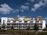 LOEIZ CARADEC ET FRANCOISE RISTERUCCI ARCHITECTES. SARL ARCHITECTURE ET URBANISME. 6 IMPASSE DE MONT-LOUIS. 75011 PARIS. HABITAT. 26 LOGEMENTS. ZAC DE BEAUREGARD. RENNES
